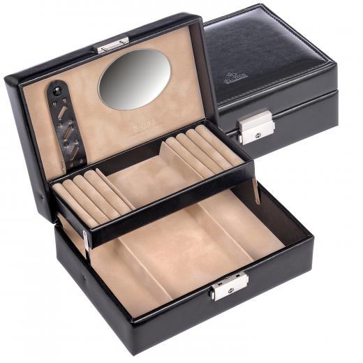 jewellery box Britta, black, new classic