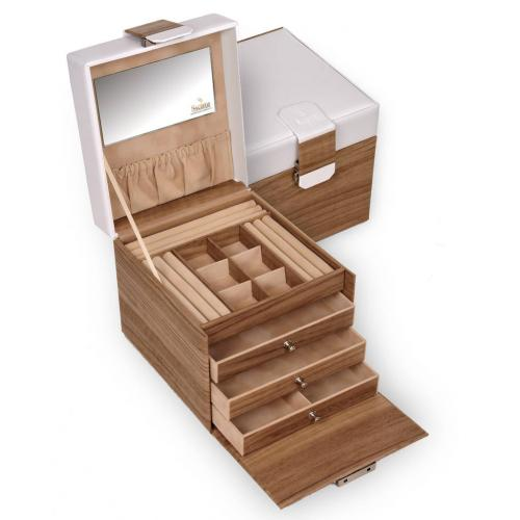 jewellery case Evita, nordic oak, nordic style