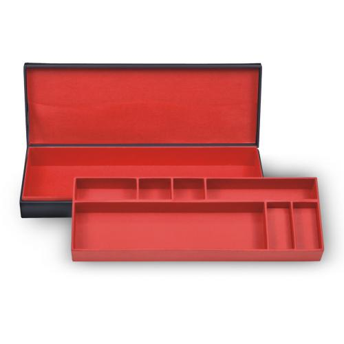 *While stock lasts* case for writing utensils , black, efalin