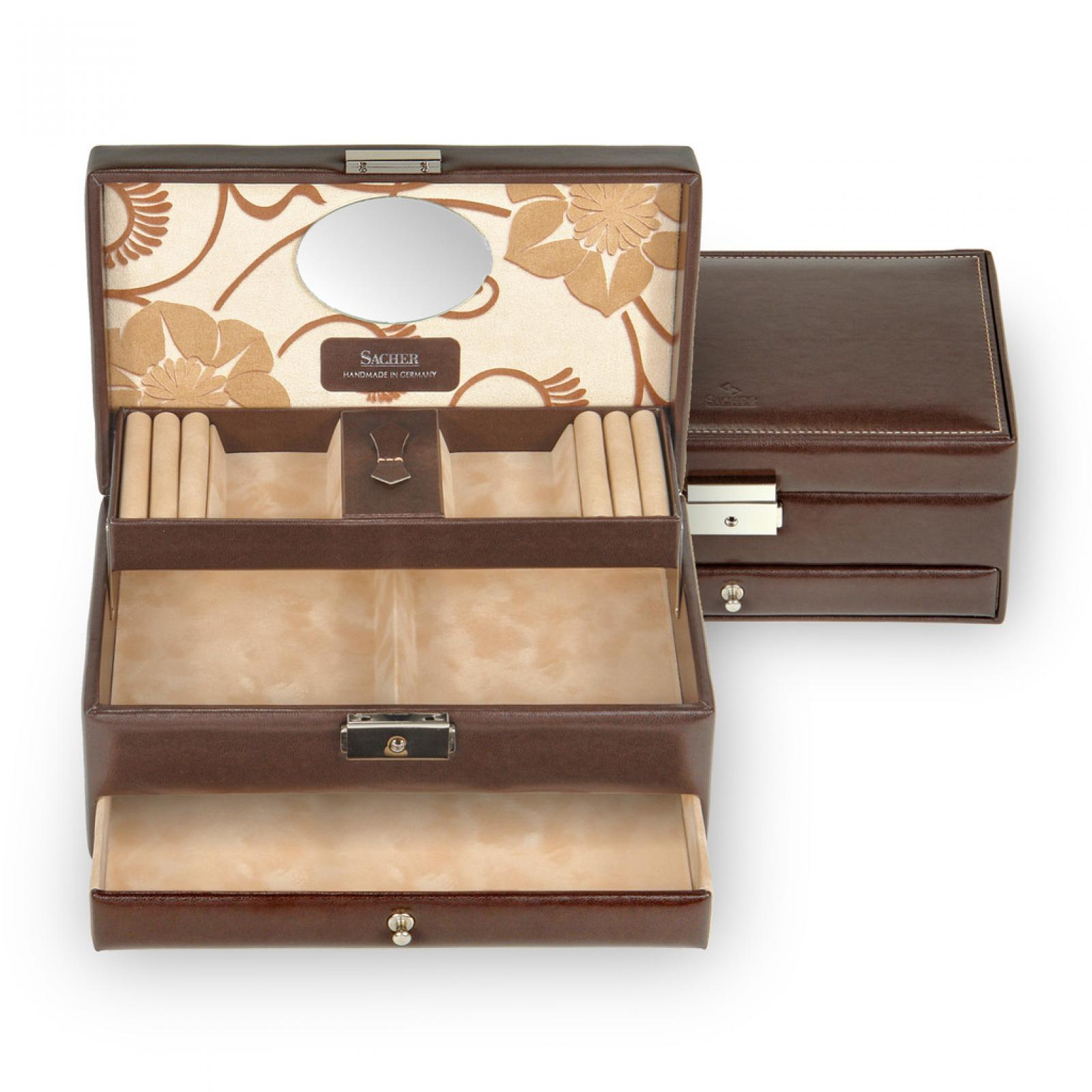 *While stock lasts* jewellery box Hanna | mocca | roma