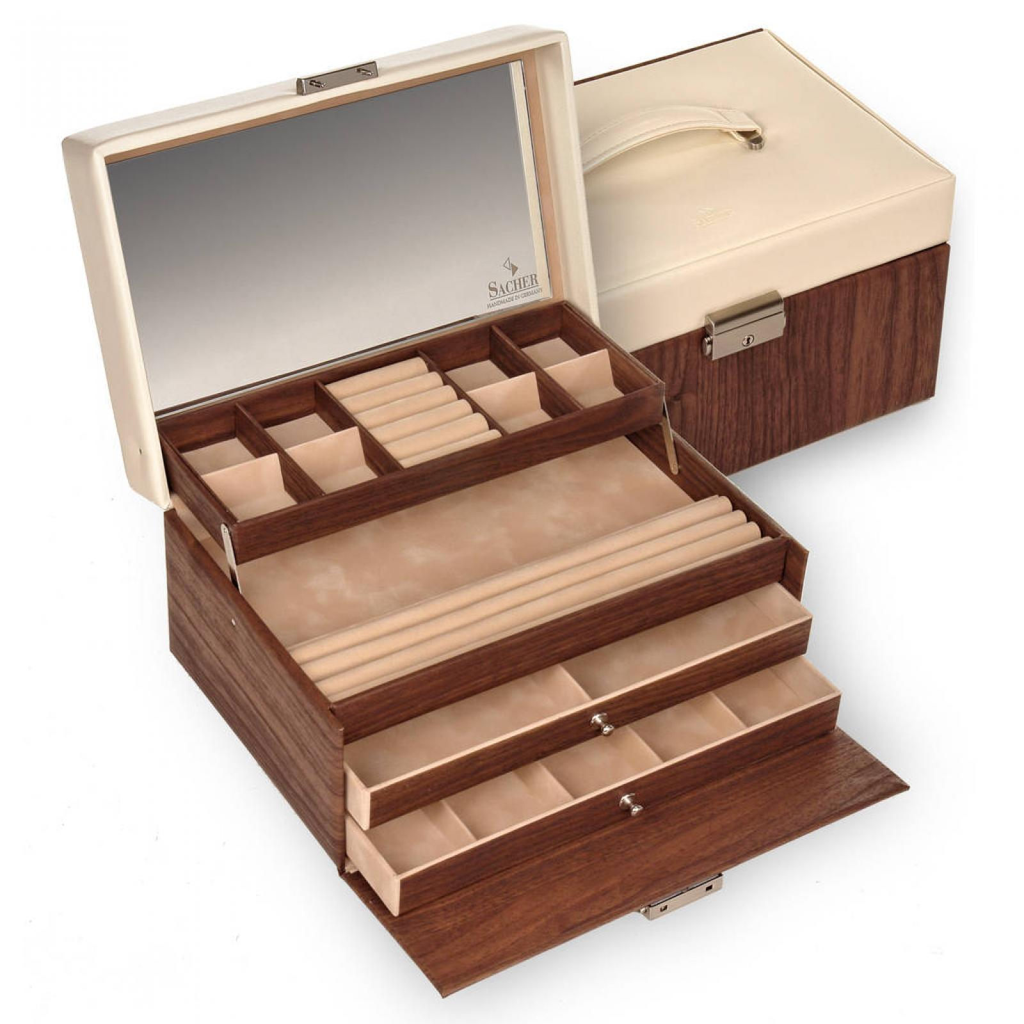 jewellery case Jette/ mahagoni