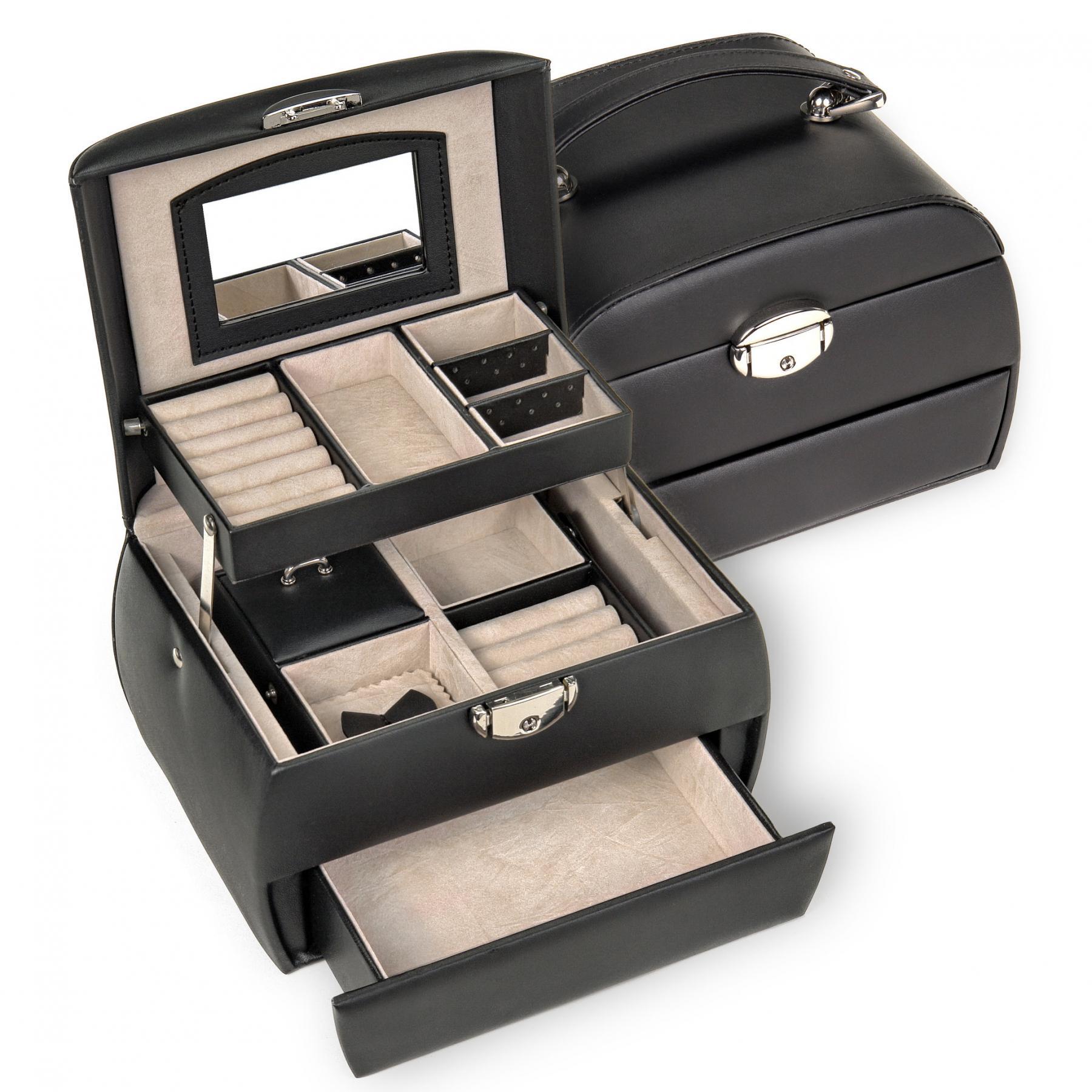 jewellery box Selina | black | standard