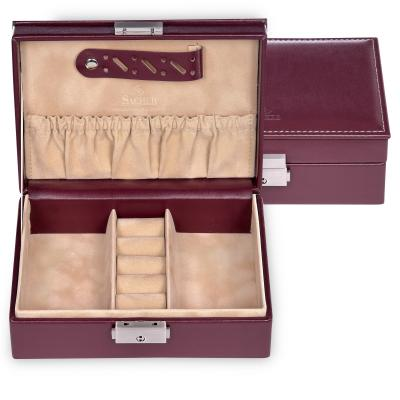 jewellery box Anja/ bordeaux