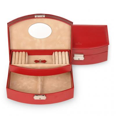 *While stock lasts* jewellery box Alexa, red, new classic