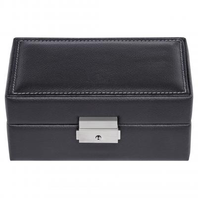case for 3 watches , leather | black | tamigi sport