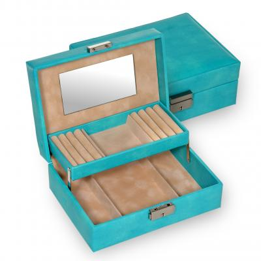 jewellery box Britta/ turquoise