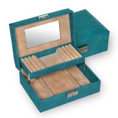 jewellery box Britta/ petrol