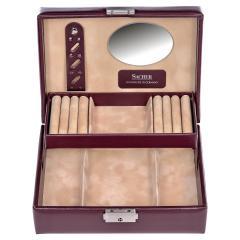 jewellery box Britta, bordeaux, new classic