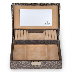 jewellery box Britta | anthracite | tulle
