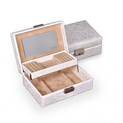 jewellery box Britta | white | tulle