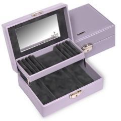 jewellery box Britta, lilac, coloranti