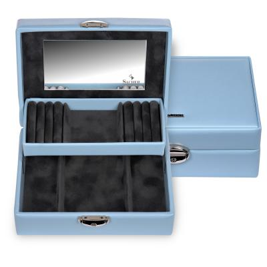 jewellery box Britta, light blue, coloranti