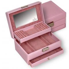 jewellery box Carola/ rosé