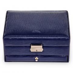 jewellery box Carola/ navy