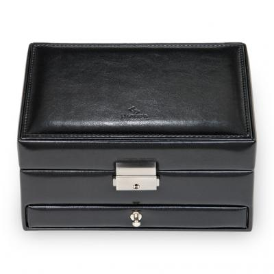 jewellery box Carola, black, new classic