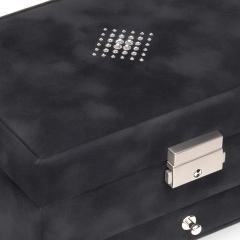 jewellery box Carola | black | crystalo mit Swarovski® Kristallen