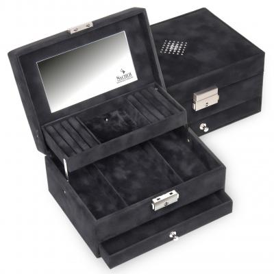 jewellery box Carola/ black