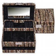 *While stock lasts* jewellery box Carola, python, python