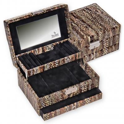 *While stock lasts* jewellery box Carola, python, python