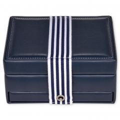 jewellery box Carola, navy, young