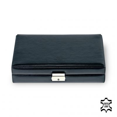 case for rings , leather | black | new classic