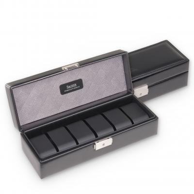 case for 6 watches  | black | gents