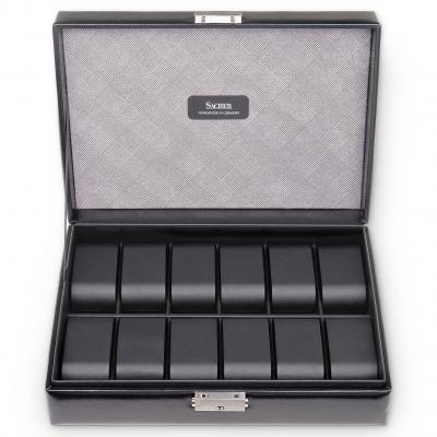 case for 12 watches  | black | gents