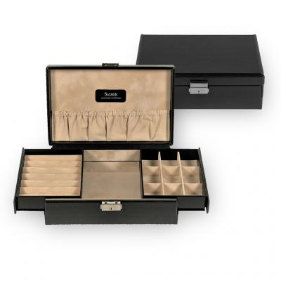 jewellery box , black, new classic