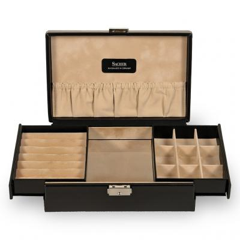 jewellery box , black, new classic