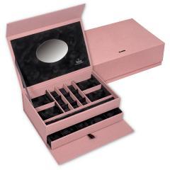 jewellery box , rose, pastello