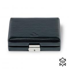 box , leather, black, new classic