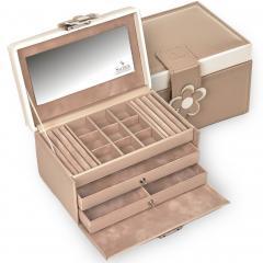 jewellery case Elly/ beige