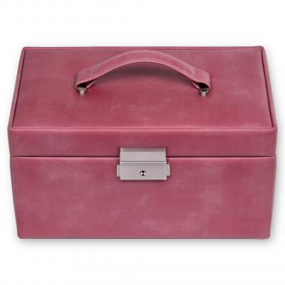 jewellery case Elly, old rose, pastello