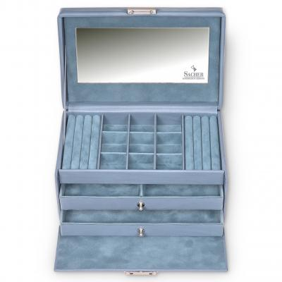 jewellery case Elly | aqua | pastello