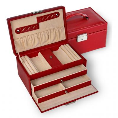 jewellery case Eva, red, dollarino