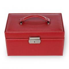 jewellery case Eva/ red