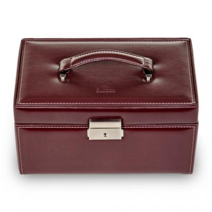 jewellery case Eva, bordeaux, new classic