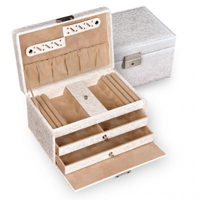 jewellery case Eva/ white