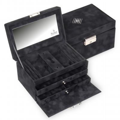 jewellery case Eva/ black