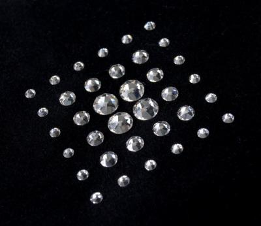 jewellery case Eva, black, crystalo mit Swarovski® Kristallen