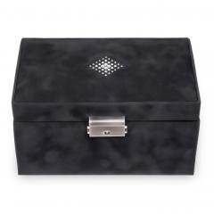 jewellery case Eva | black | crystalo mit Swarovski® Kristallen