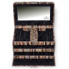 *While stock lasts* jewellery case Eva, python, python
