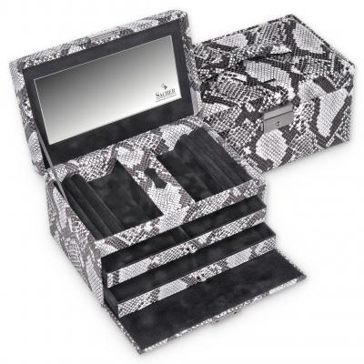 *While stock lasts* jewellery case Eva, snake, snake