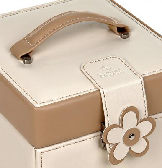 jewellery case Erika, cream, bella fiore