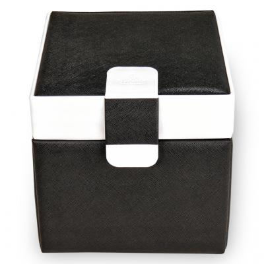 jewellery case Erika | black | nero bianco