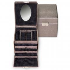 jewellery case Evita/ taupe