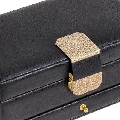 jewellery case Helen | black | saffiano
