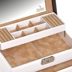 jewellery case Helen/ white
