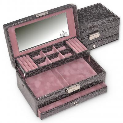 jewellery case Helen/ grey