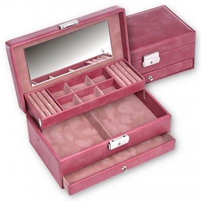 jewellery case Helen, old rose, pastello